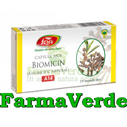 BIOMICIN Antibiotic Natural 15 capsule moi Fares Orastie
