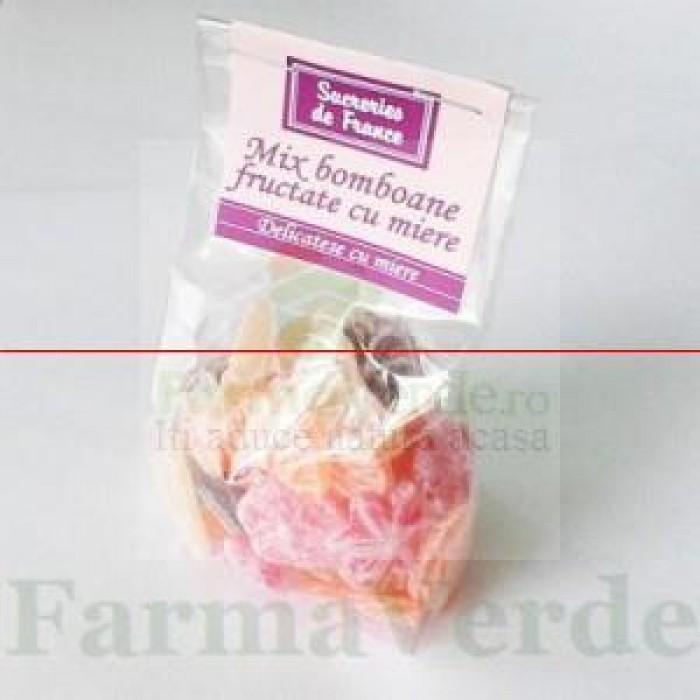Bomboane cu Miere si Mix Fructe de Padure 100gr Apicola Pastoral