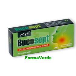 Bucosept Gat Relaxant 20 comprimate Bioeel