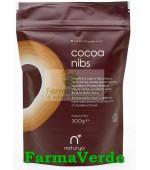 Cacao Nibs Miez Boabe De Cacao Organic/BIO 300 gr Naturya