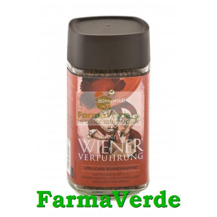 Cafea ECOLOGICA Ispita Vieneza Instant 100 gr Sonnentor