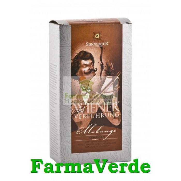 Cafea ECOLOGICA Ispita Vieneza Melange macinat 500 gr Sonnentor