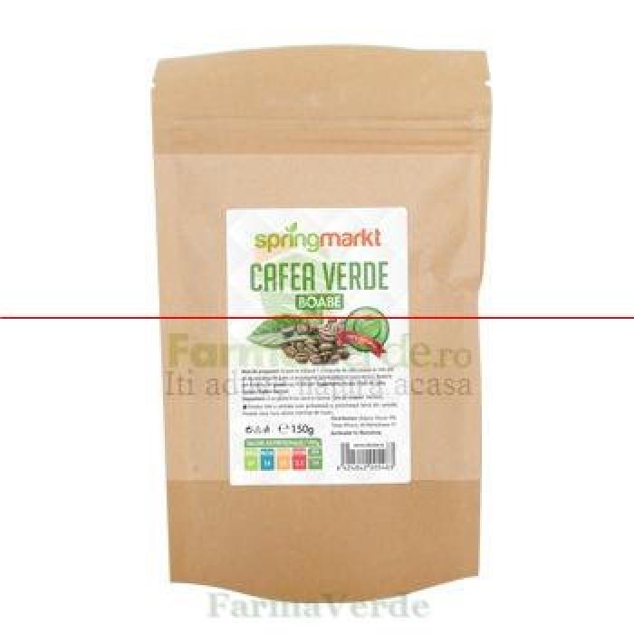 Cafea Verde Boabe 150 gr Adams Vision SpringMarkt