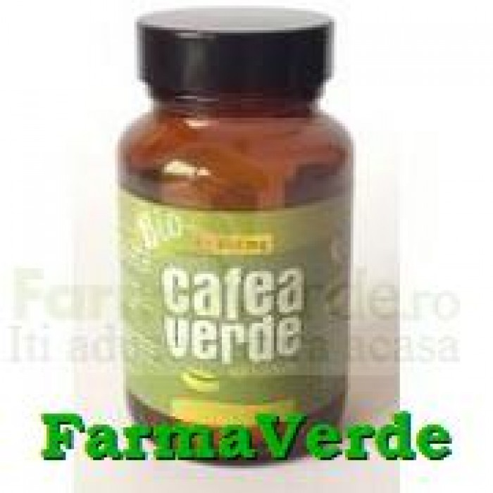 CAFEA VERDE si Slabesti 600 mg 60 tablete Evergreen