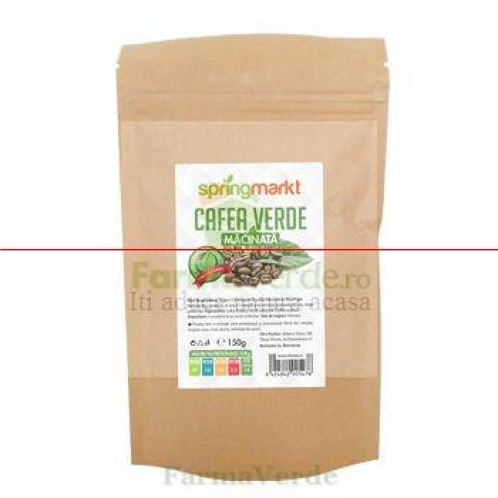 Cafea Verde Macinata 150 gr Adams Vision SpringMarkt