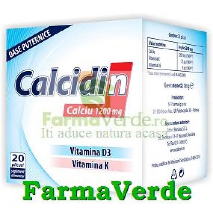 Zdrovit Calcidin 1200 mg 60 doze 20% GRATIS!