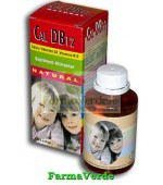 CALCIU D3 B12 Natural Sirop Fara Zahar 100ml Natural