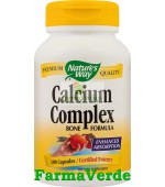Calciu Complex Bone Formula100 Cps Nature's Way Secom