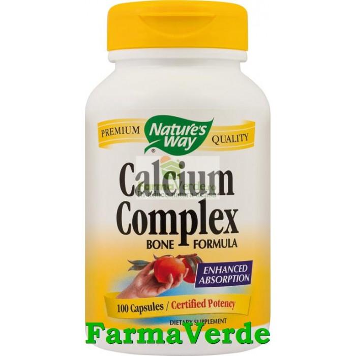 Calciu Complex Bone Formula100 Cps Nature's Way Secom