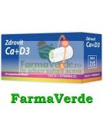 Zdrovit Calciu+Vitamina D3 50 de comprimate