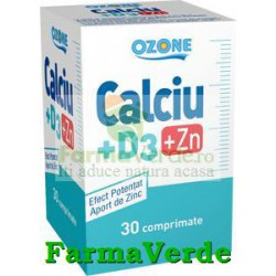 CALCIU+D3+ZN 30 Cpr Ozone Labormed