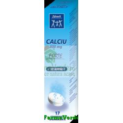 Zdrovit Calciu Forte + Vitamina C 800 mg 17 cpr eff