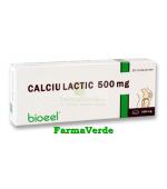Calciu Lactic 500 mg 20 comprimate Bioeel