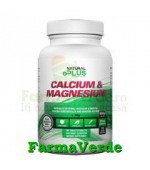 Calciu & Magneziu 100 comprimate Natural Plus