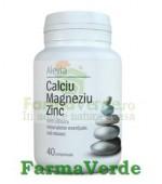 Calciu Magneziu Zinc 40 Cpr Alevia