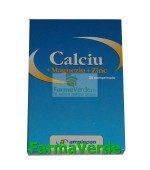 Calciu+Mg+Zn 20 cpr Amniocen/Simfoni