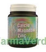 Calciu Magneziu Zinc 150 capsule Medica