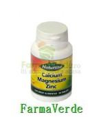 Calciu Magneziu Zinc 30 cpr Naturline Walmark