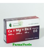 CA+MG+ZN +D3 30 cpr Remedia