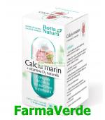 Calciu Marin cu Vitamina D2 Naturala 30 capsule Rotta Natura