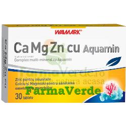 Ca-Mg-Zn cu AQUAMIN 30Mg -30 cpr Walmark
