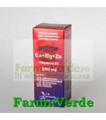 Calciu+MG+ZN +VITAMINA D3 Sirop 250 ml Remedia