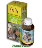 CALCIU CU D3 Natural Sirop Fara Zahar 150ml Natural