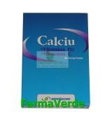 Calciu + Vitamina D3 + Vitamina C 20 cpr Amniocen
