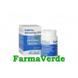 Calciu+D3+Zinc 30 cpr HorizonVita