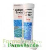 Calciu cu Vitamina D 10 Cpr Efervescente Sandoz