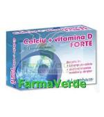 CALCIU + VITAMINA D Forte 100cpr Laropharm