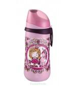 Cana Kids Cup Girl PP 330 ml, antipicurare, cu clip de prindere