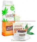 Cannabissimo Coffee Fitness Cafea cu Seminte de Canepa 250 gr
