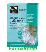 Capsule cu magneziu si vitamina E Fitne Life Care