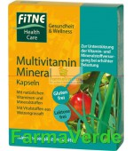 Capsule cu multivitamine si minerale Fitne Life Care