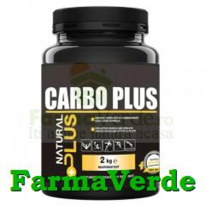 Carbo Plus Pulbere 1 kg Natural Plus