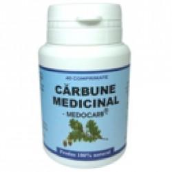 Carbune Medicinal (Medocarb) 40 cpr Pontica Elidor