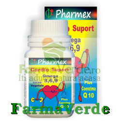 CARDIO SUPPORT Omega 3 6 9 60 cpr Pharmex