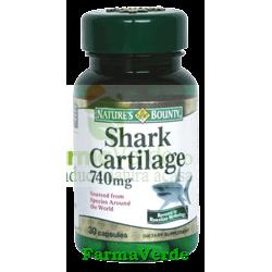 Cartilaj de rechin cu Calciu 740 mg 30capsule Walmark Nature's B