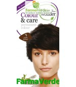 Colour&Care Vopsea par Dark Brown nr.3 Hairwonder Sysmed