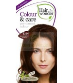 Colour & Care Dark Cooper Brown 3.44 Vopea Par Hennaplus Sysmed