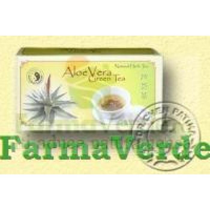 Ceai Aloe Vera 20 doze Mixt Com