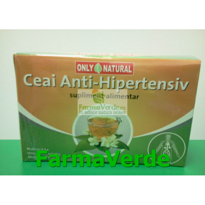 CEAI ANTI HIPERTENSIV 30doze X 2gr Only Natural