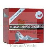 Ceai Antiadipos cu Ginseng 30 doze Amedsson