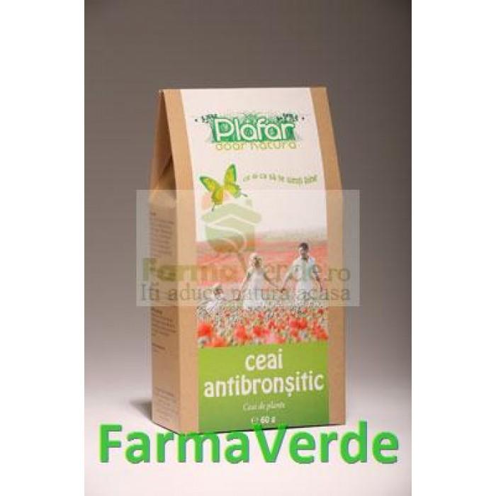 Ceai Antibronsitic 60 gr Plafar