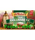 Ceai Antidiabetic 25 doze Adserv Adnatura