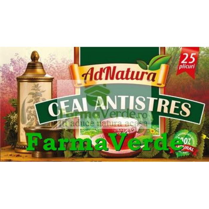 Ceai Antistres 25 doze Adserv Adnatura