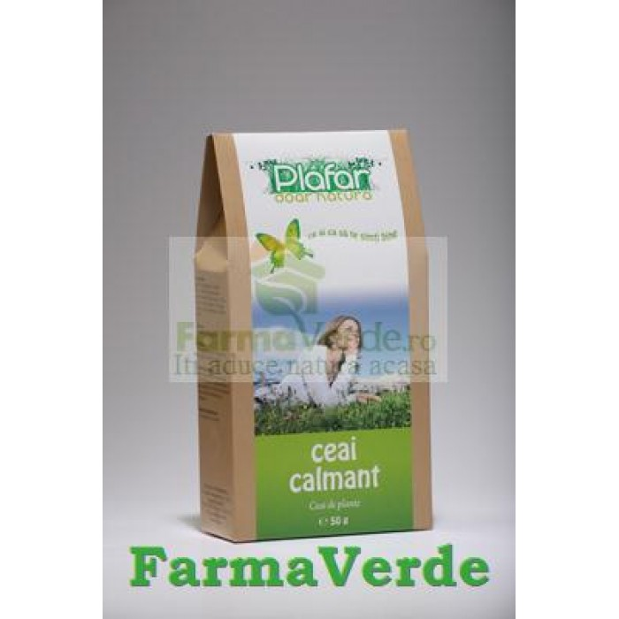 Ceai Calmant Nervos 50 gr Plafar