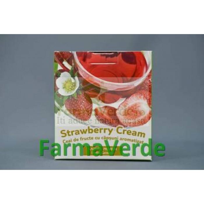 Ceai Capsuni Strawberry Cream 20dozeX2gr Bis Nis