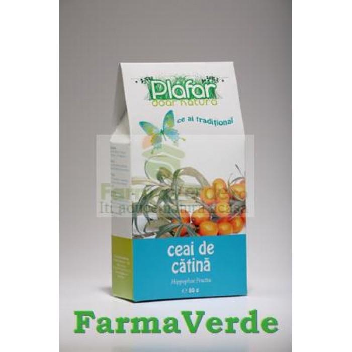 Ceai de Catina Fructe 80 gr Plafar